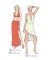 301-13 misses dress skirt pattern
