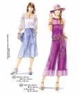 302-01 skirtpants pattern